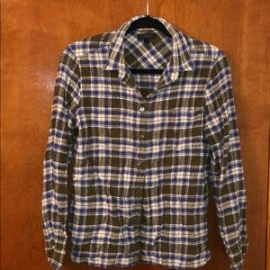 J.crew flannel shirt